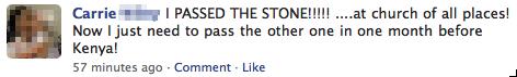 a church stoning