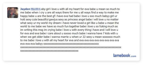 For Eva Eva?