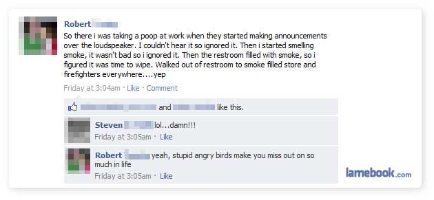Angry Bird Sh*t