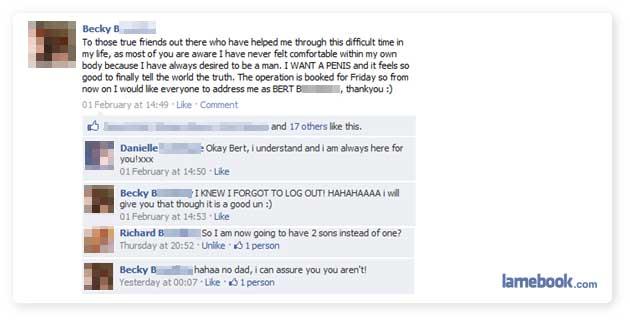 funny facebook statuses. Lamebook – Funny Facebook