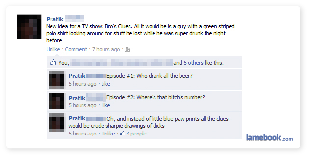 Bro's Clues