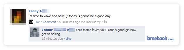 Wow, Mom!