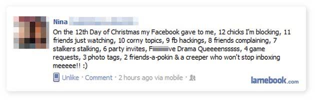 A Facebook Christmas