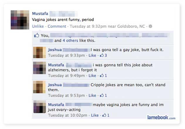 Jokes...