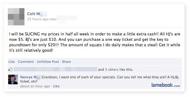 Grandma Gets a Deal
