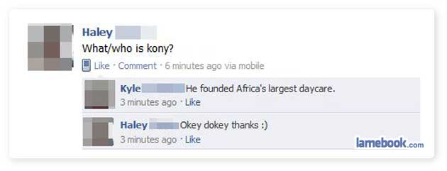 Kony?