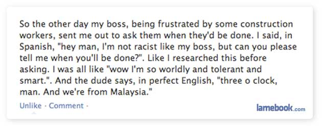 Unintentionally Racist
