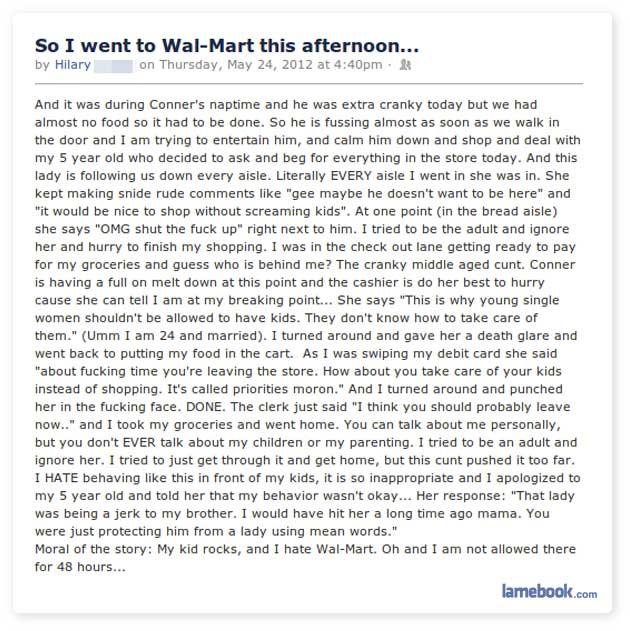 Wild at Wal-Mart