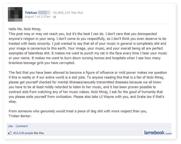Dear Nicki