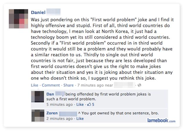 First World Fail