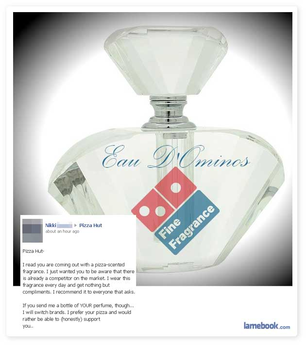 Pizza Perfume