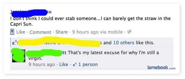 A legit excuse...