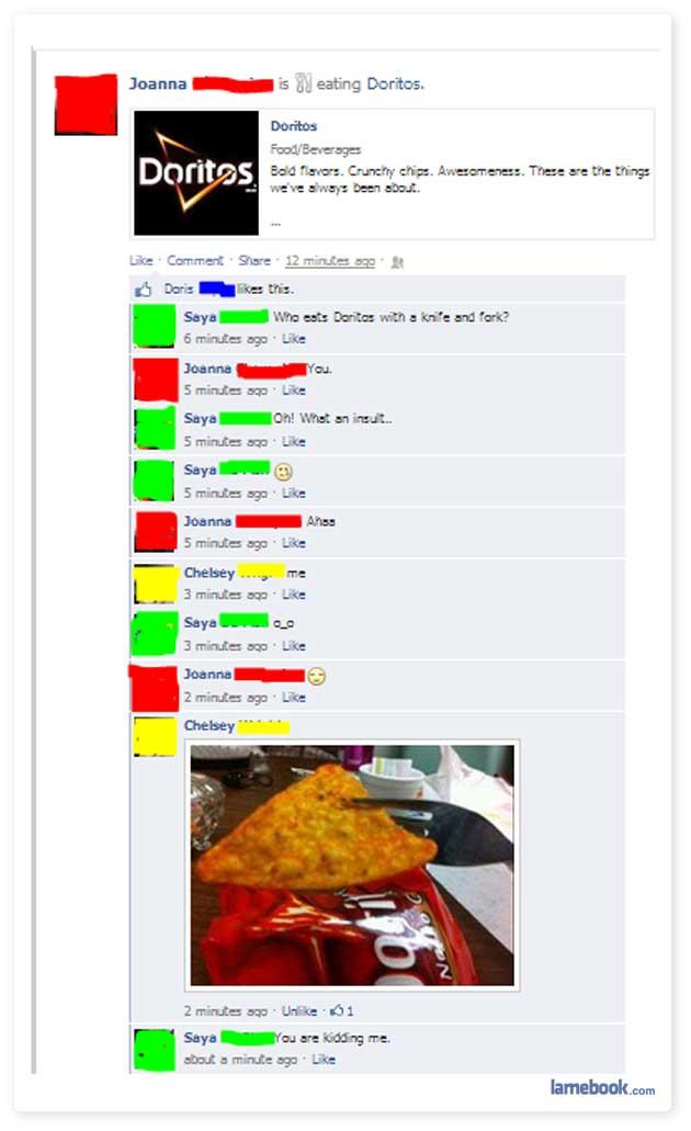 Dorito Dining