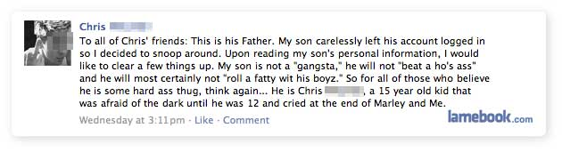 Parents FTW!