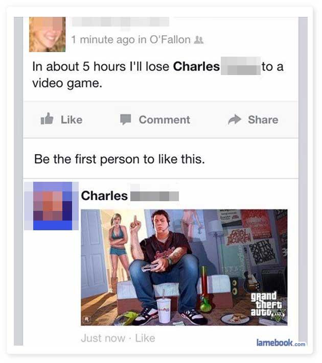 Losing Charles