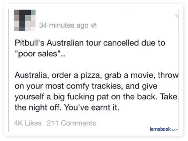 Australia, I Love You.