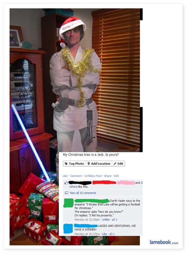 It's a Jedi Christmas