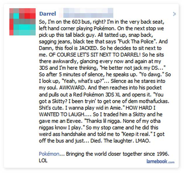 Darrel's Dilemma