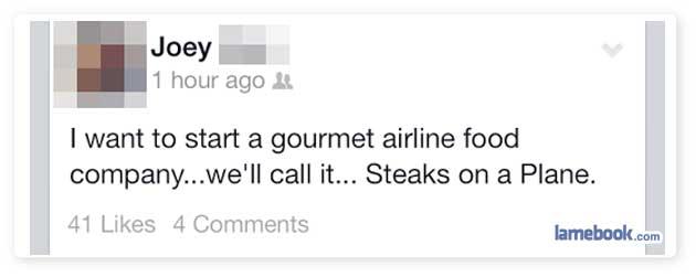 Gourmet Idea!