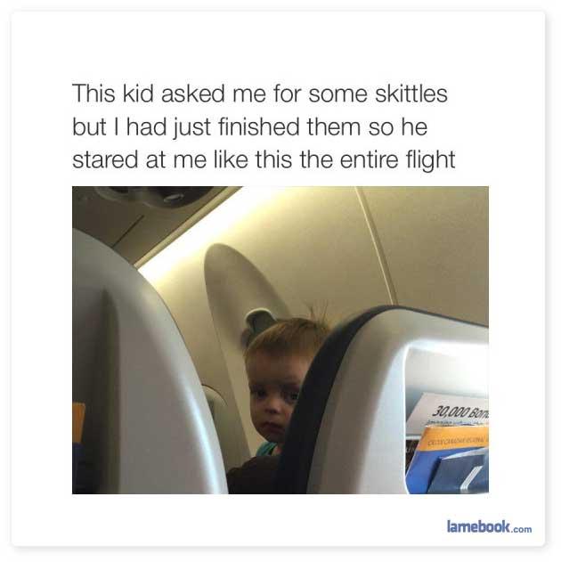 Not So Sweet Flight