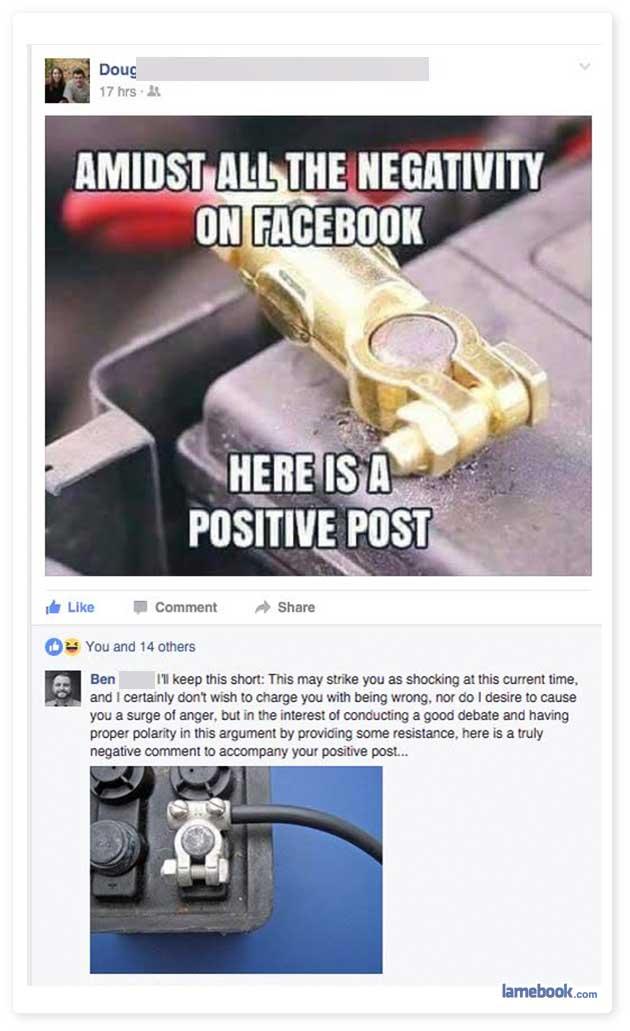 Positive Post