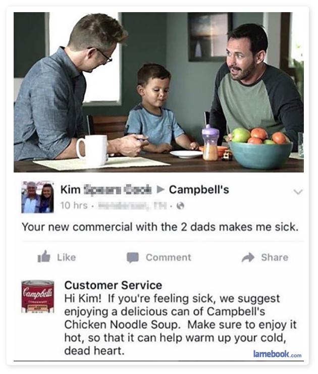 Soup-porting Equality