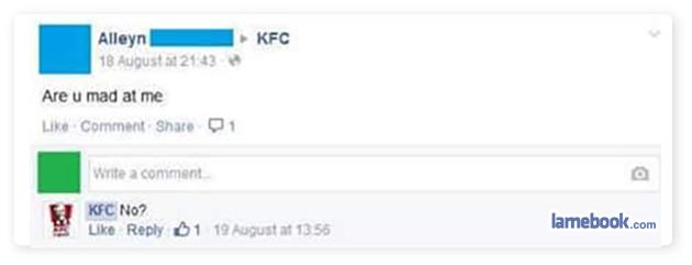 KFC You Soon?
