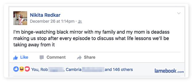 Mom Flack Mirror
