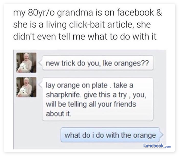 Orange You Confused