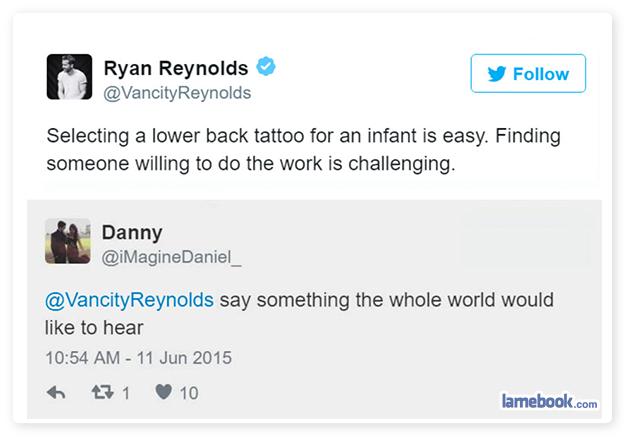 Ryan Reynolds on Parenting