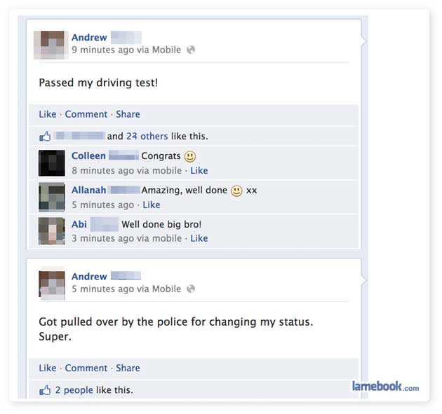 Stupid Student Driver