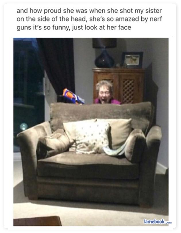 Grandma's Gun