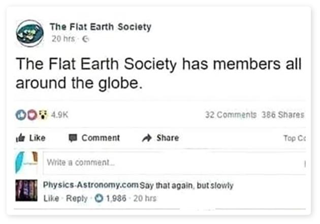 Flat Earth Logic